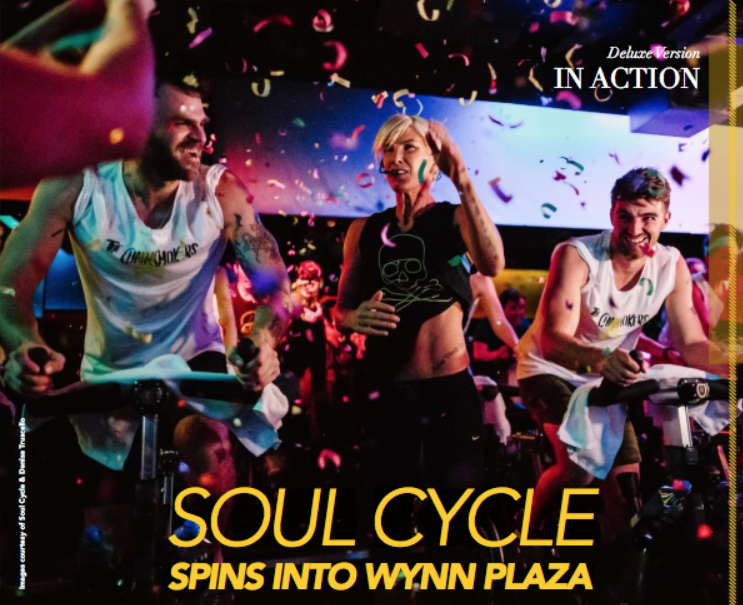 Soul Cycle spins into Wynn Plaza