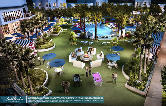 South Beach Resort: A New Heart In Las Vegas Luxury Living!